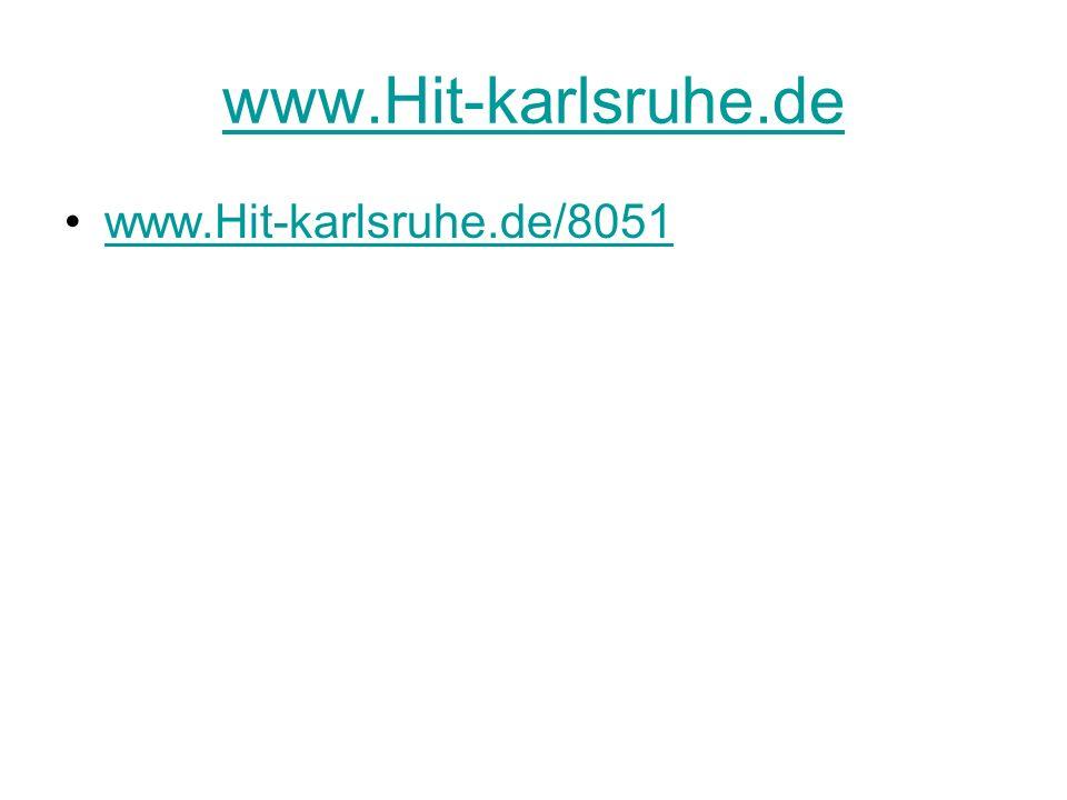 www.Hit-karlsruhe.de www.Hit-karlsruhe.de/8051