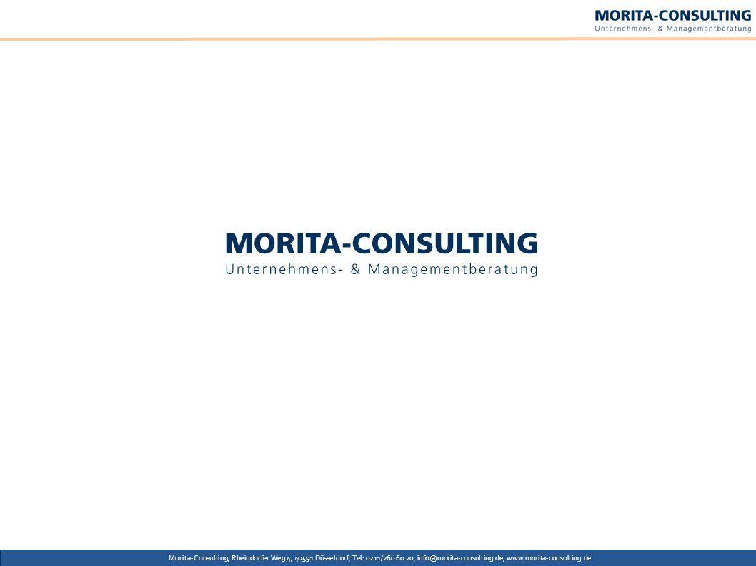 Morita-Consulting, Rheindorfer Weg 4, 40591 Düsseldorf, Tel: 0211/260 60 20, info@morita-consulting.de, www.morita-consulting.de