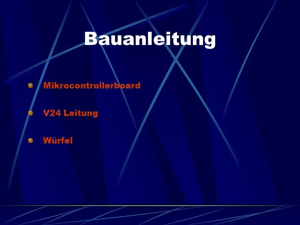 Eigene Bauelemente mit Defekten Am V24 Kabel wurde ein Anschlussfehler der aus der Bauanleitung hervorging, behoben Bei einem MCB wurde ein nicht ange
