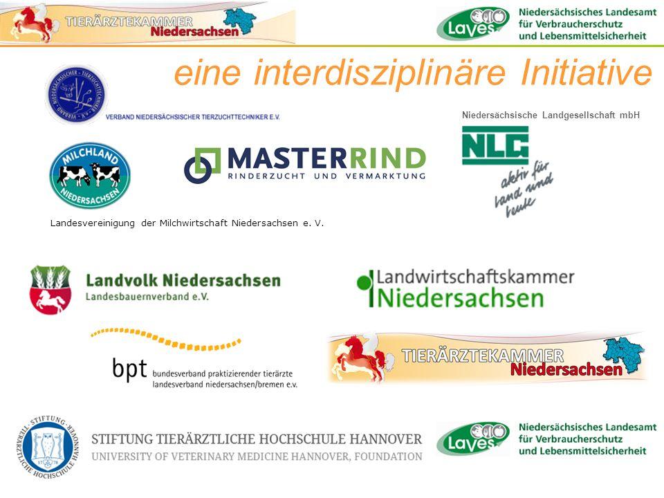eine interdisziplinäre Initiative Landesvereinigung der Milchwirtschaft Niedersachsen e. V. Niedersächsische Landgesellschaft mbH