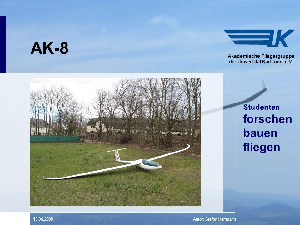 Studenten forschen bauen fliegen Akademische Fliegergruppe der Universität Karlsruhe e.V.