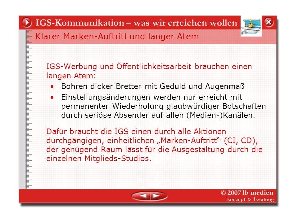 © 2007 lb medien konzept & beratung Die Philosophie des`kollaborativen`Marketing Die Macht der Lilliputaner Strategie der Faust und der Finger gegen d