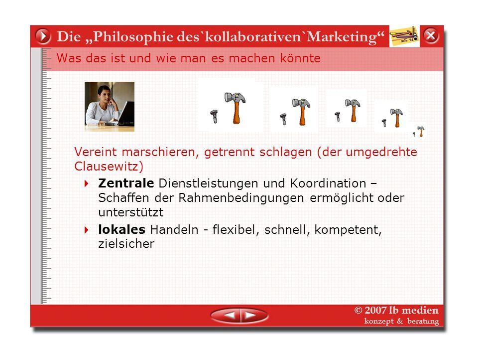© 2007 lb medien konzept & beratung IGS-Kommunikation – was wir erreichen wollen Klarer Marken-Auftritt und langer Atem IGS-Werbung und Öffentlichkeit