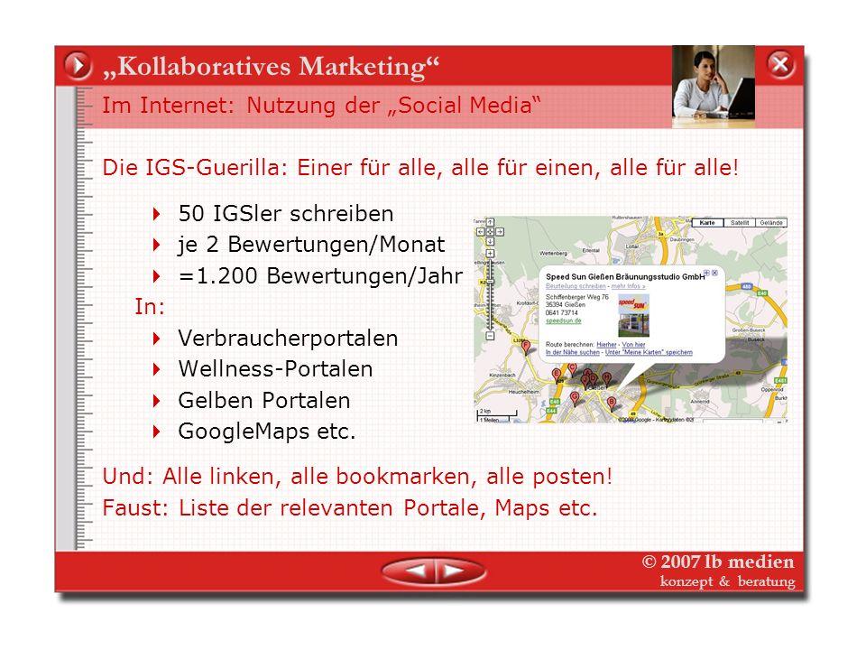© 2007 lb medien konzept & beratung Kollaboratives Marketing Am Beispiel Pressearbeit – Aussendung und Dialog 2.Reaktionen auf Pressemeldungen Die Fau