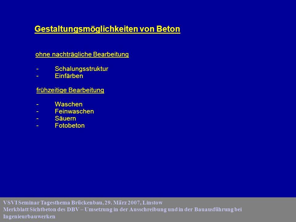 VSVI Seminar Tagesthema Brückenbau, 29.
