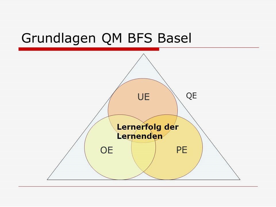 QE Lernerfolg der Lernenden