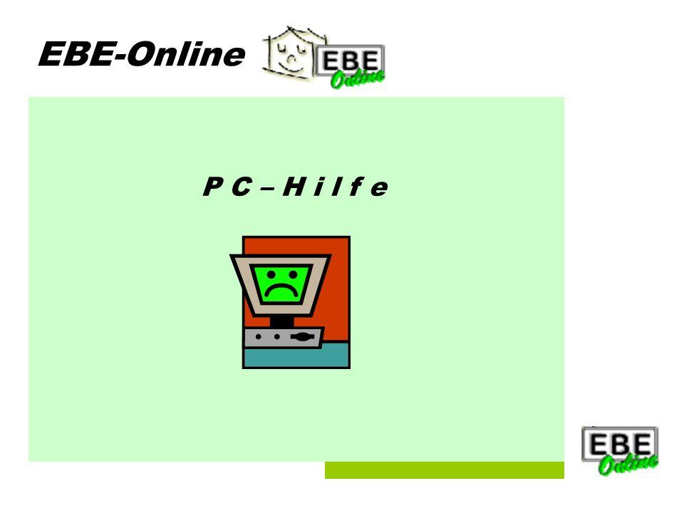 Folie 1 EBE-Online P C – H i l f e