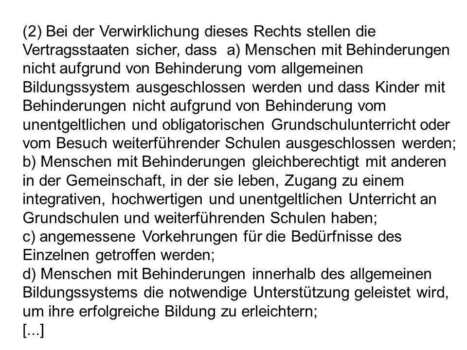 Kritik an der deutschen Integrationsforschung hinsichtlich der SmV in den letzten 30 Jahren Herbert Goetze (2008): Die deutsche Integrationsforschung hat sich einer soliden, methodischen Standards genügenden, gut kontrollierten Forschung gegenüber abstinent verhalten Heinz Bach (1990) : Bei aller Achtung...