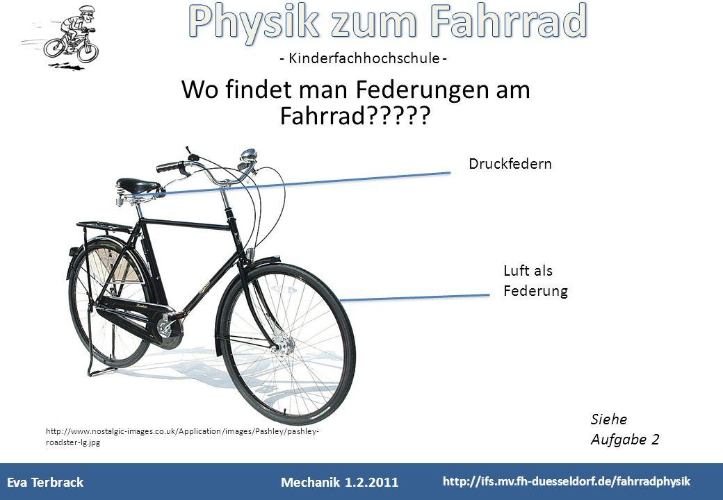 - Kinderfachhochschule - Wo findet man Federungen am Fahrrad????? Druckfedern Luft als Federung http://www.nostalgic-images.co.uk/Application/images/P