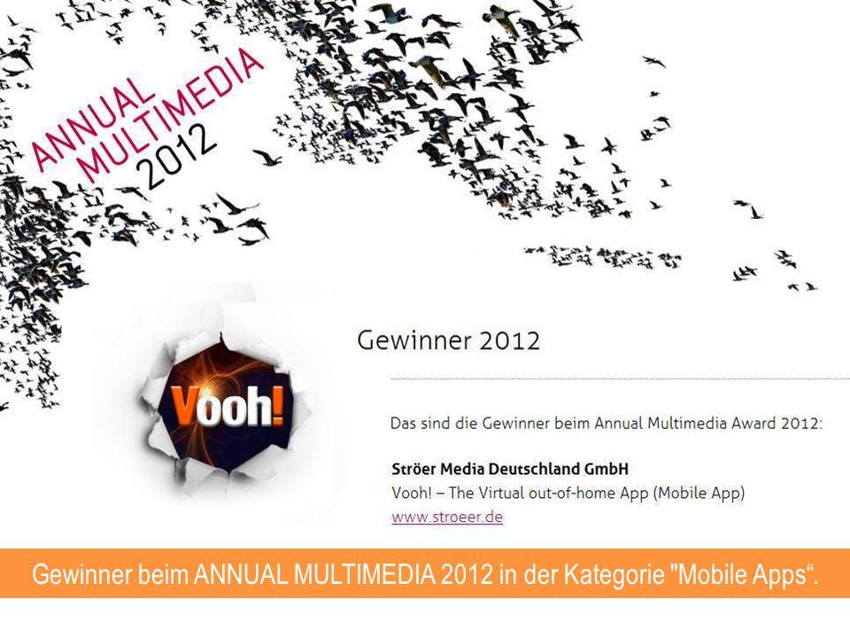Gewinner beim ANNUAL MULTIMEDIA 2012 in der Kategorie
