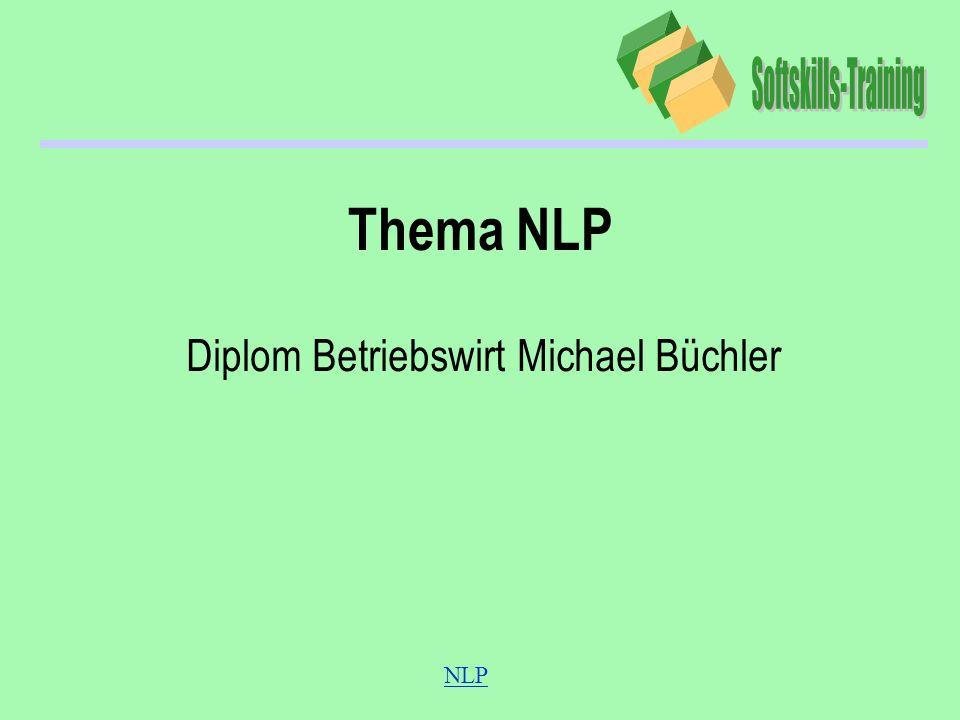 NLP Thema NLP Diplom Betriebswirt Michael Büchler