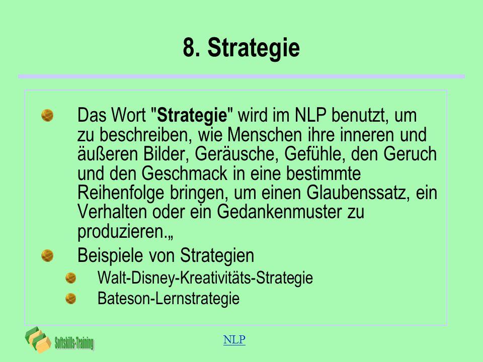 NLP 8. Strategie Das Wort