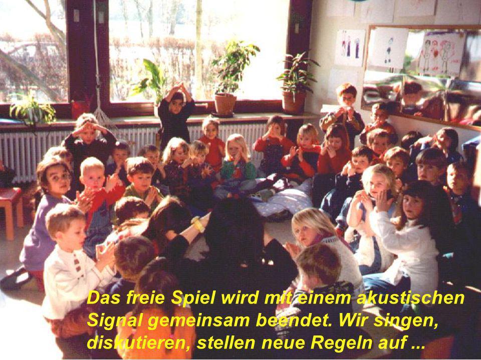 In der offenen Kindergarten- Arbeit kann auf Regeln nicht verzichtet werden! Nur so kann gute pädagogische Arbeit und ein positives Miteinander geling