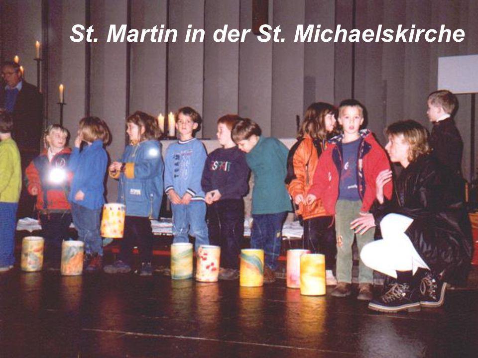 Die religions-pädagogische Arbeit vermittelt den Kindern Grundlagen des christlichen Glaubens, z.B. durch die Hinführung zu Festen und Feiern im Jahre