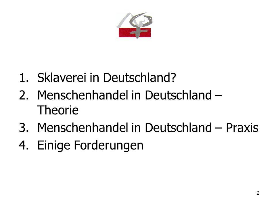 3 Sklaverei in Deutschland?
