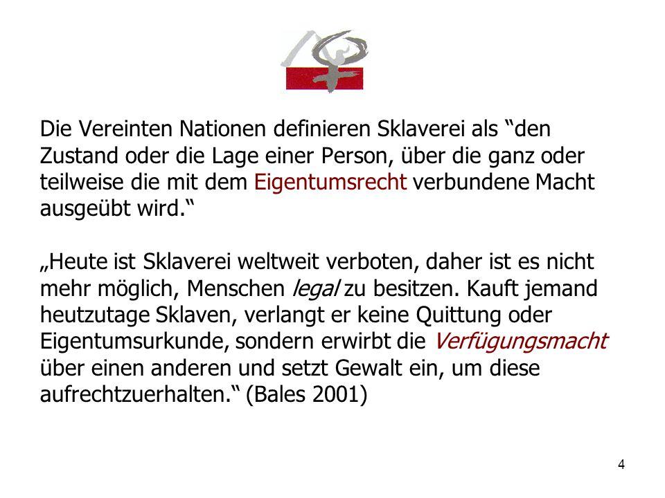 5 Menschenhandel in Deutschland - Theorie -