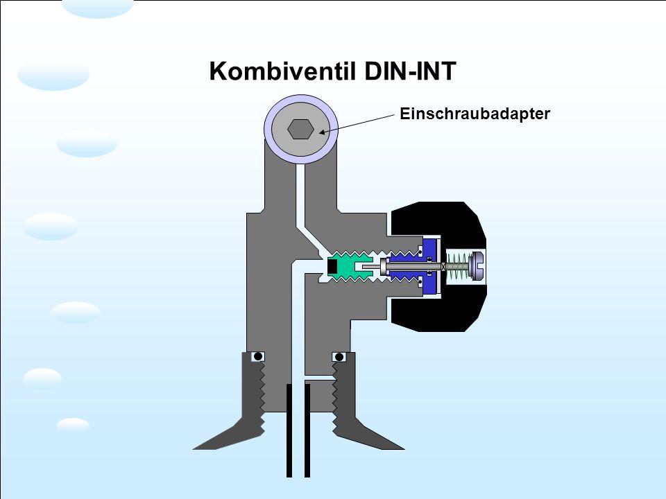 Einschraubadapter Kombiventil DIN-INT