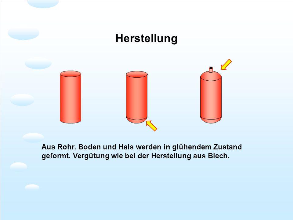 Stahl- und Aluflaschen Gewicht, Volumen und Auftrieb Aluflasche Leergewicht 12,5 kg Stahlflasche Leergewicht 10,8 kg Volumen 11,4 dm 3 Volumen 14,6 dm 3 Auftrieb 0,6 kg*Auftrieb 2,1 kg* Materialvolumen Luftvolumen Dichte: 7,85 2,7 Festigkeit von Alu geringer, daher Flaschenwandung viel stärker.