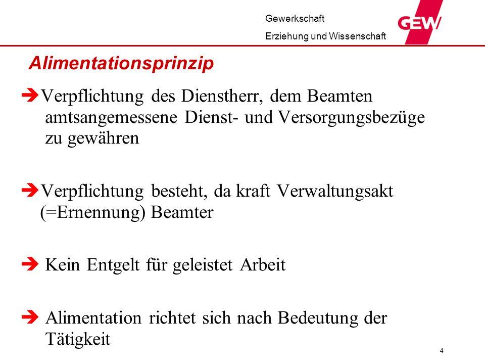 Gewerkschaft Erziehung und Wissenschaft Versorgung Zum Beispiel Thüringen 1.Versorgung aus dem letzten Amt 2.Altergrenze 67 3.Mitnahme von Versorgungsansprüchen 4.Versorgungsfonds ausbauen ?