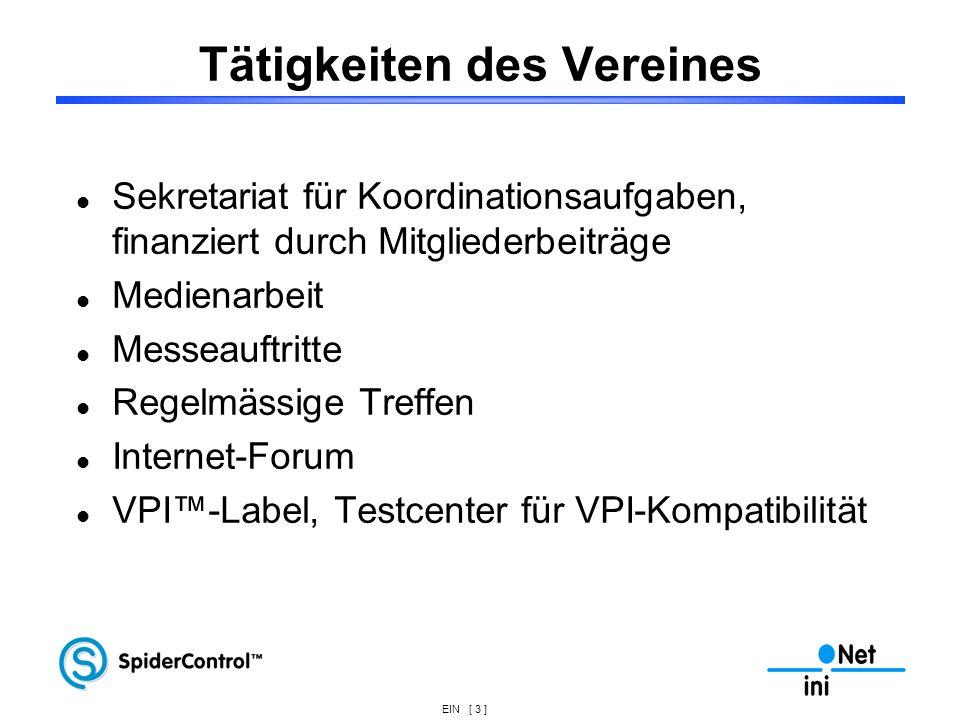 EIN [ 34 ] Fernwarten / Bedienen Geldausgabe Embedded Webserver Externer Zugriff