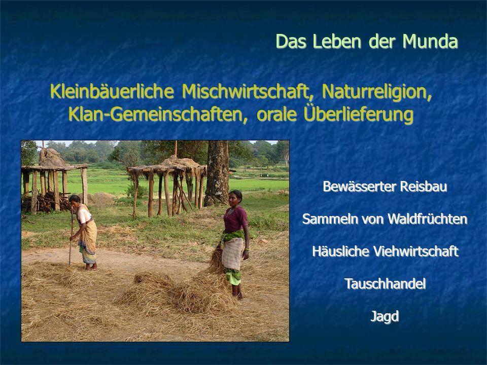 Das Leben der Munda Marcus Guria, Dorfältester von Kalet Alles, was wir besitzen, ist unser Land.
