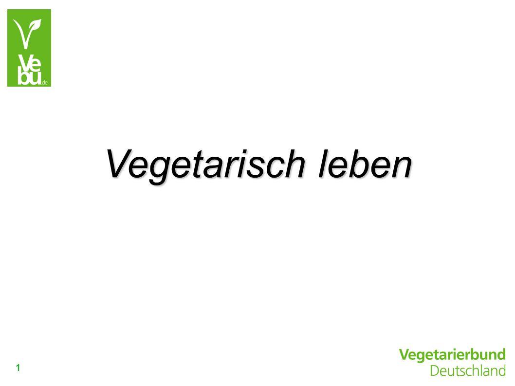 1 Vegetarisch leben