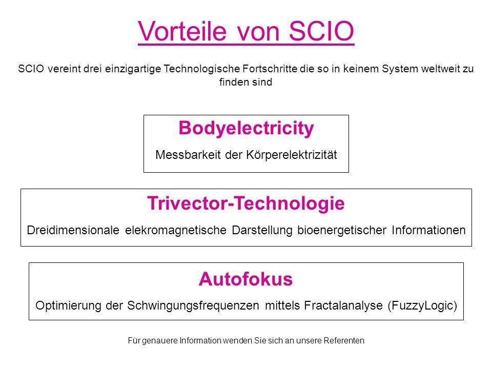 Elektroakupunktur SCIO ist in der Lage über 1000 Akupunkturpunkte zu erfassen und automatisch zu stimulieren