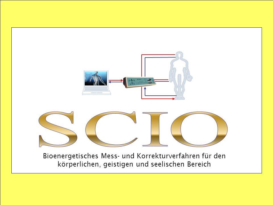 SCIO- Organ Chart 118 Verdauung Beachte: Reaktionen zeigen nicht ein Zuviel oder Zuwenig, sondern weisen darauf hin, dass etwas nicht in Balance ist
