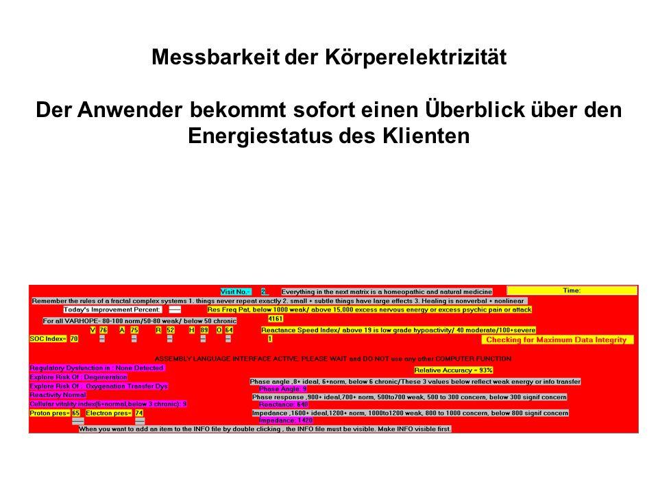 Autofokus RIFE: Dieses Programm optimiert abweichende Organfrequenzen