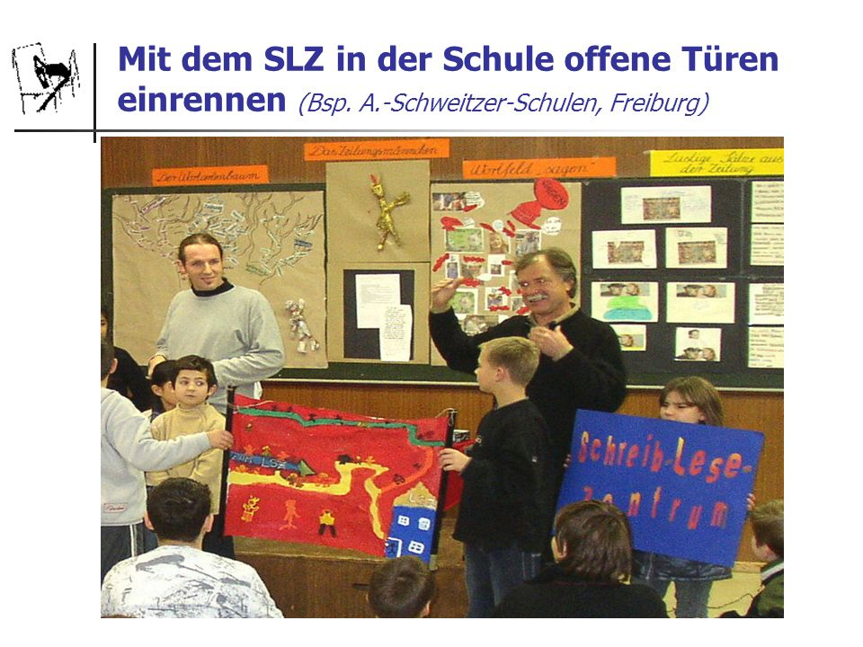 Mit dem SLZ in der Schule offene Türen einrennen (Bsp. A.-Schweitzer-Schulen, Freiburg)