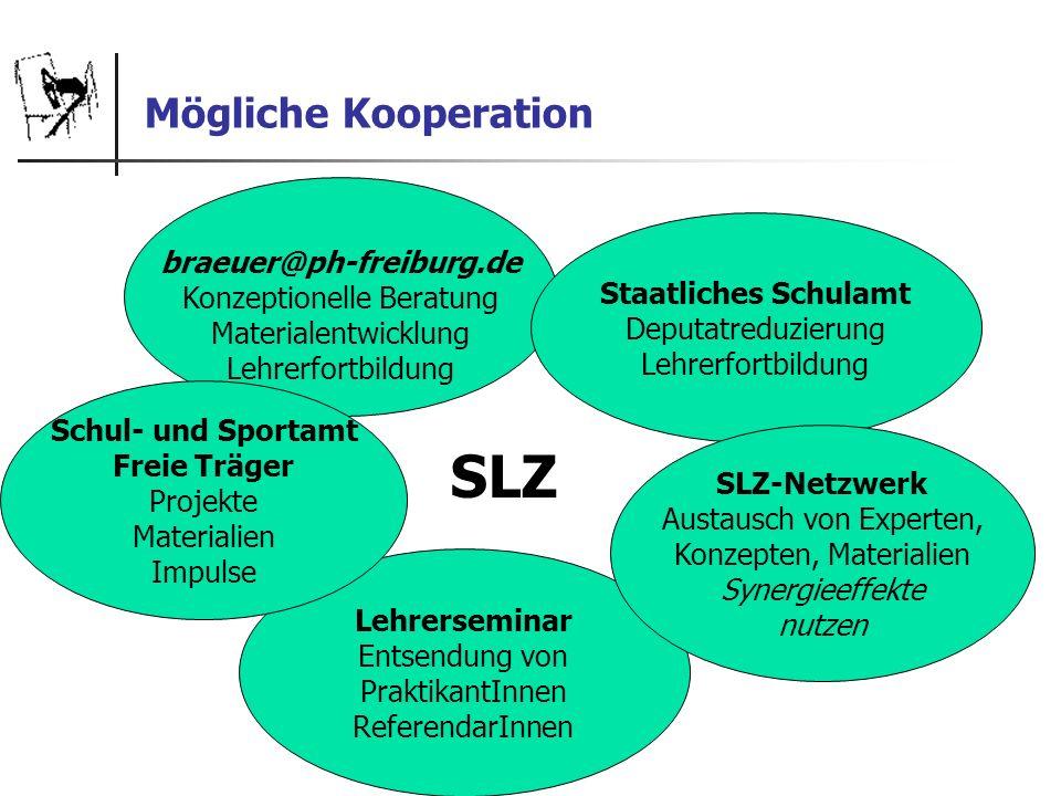 Mögliche Kooperation braeuer@ph-freiburg.de Konzeptionelle Beratung Materialentwicklung Lehrerfortbildung Lehrerseminar Entsendung von PraktikantInnen