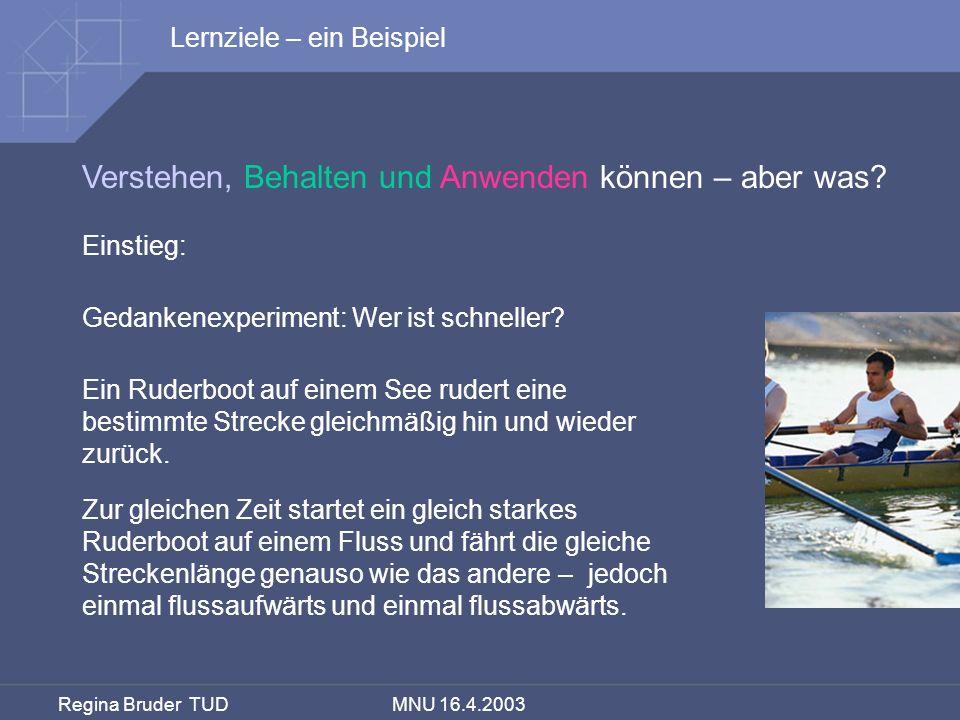 Regina Bruder TUD MNU 16.4.2003 TIMSS-Videostudie - Muster des deutschen MU 1.