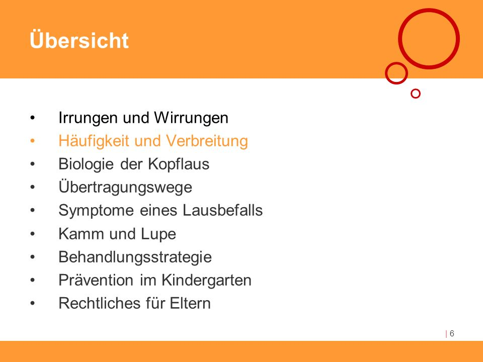 Kindergarten Kontrolluntersuchung bei Lausbefall: Behandlungsstrategie Alle Eltern Information Feedback Ggf.