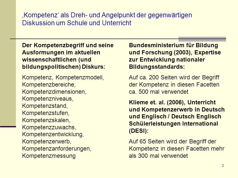 23 Weitere Literaturhinweise (1) Bundesministerium für Bildung und Forschung (Hrsg.) (2003).