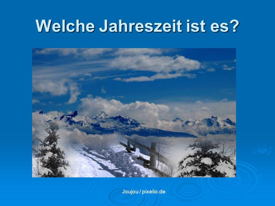 Welche Jahreszeit ist es? Joujou / pixelio.de