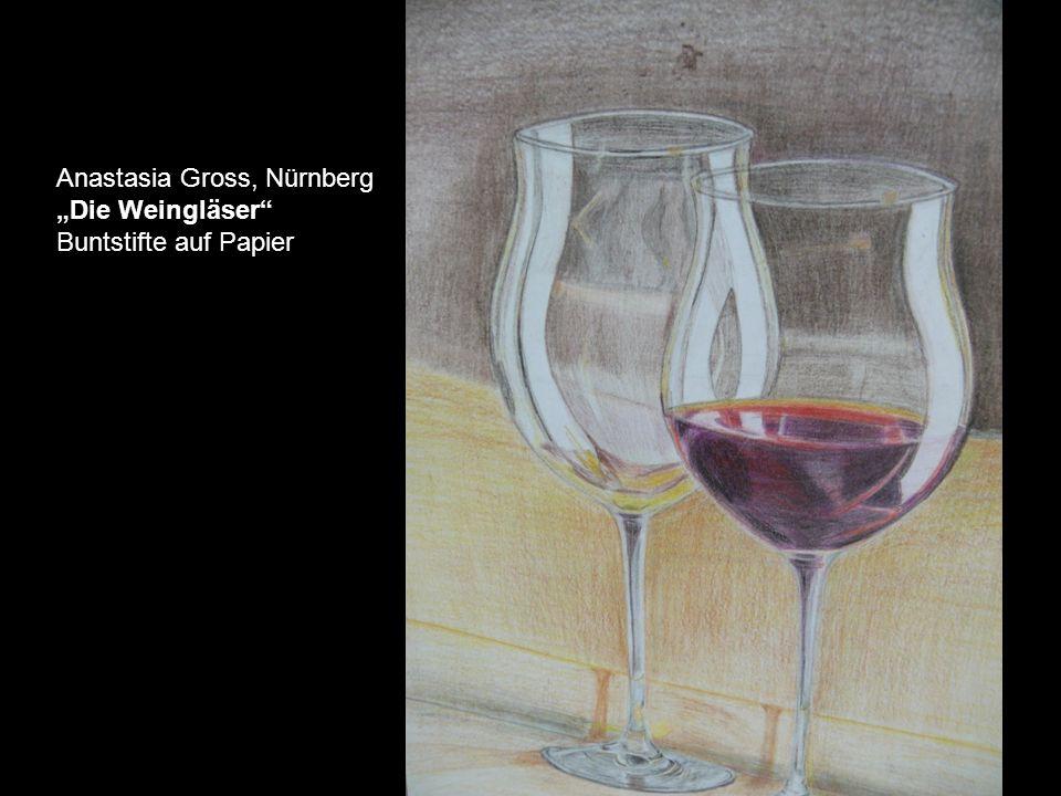 Gisela Schneider, Nürnberg Farbenrausch Aquarell auf Leinwand