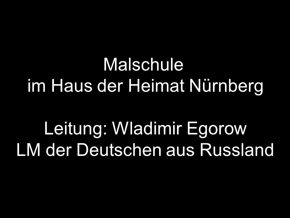 Anastasia Gross, Nürnberg Attitüde Aquarell auf Leinwand