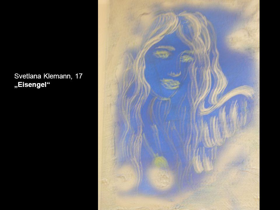 Marta Fayngold, 15 Dem Sonnenlicht entgegen Aquarell