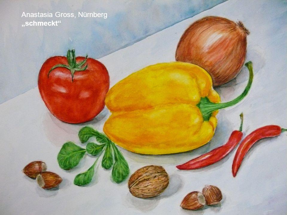 Tatjana Steiger, 33 Äpfel Acryl auf Leinwand