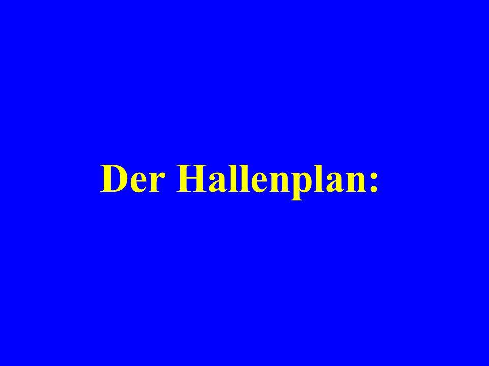 Der Hallenplan: