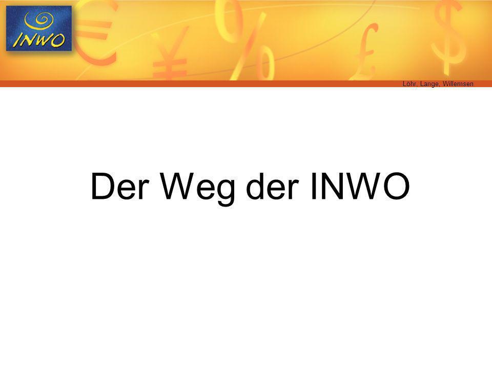 Löhr, Lange, Willemsen Der Weg der INWO