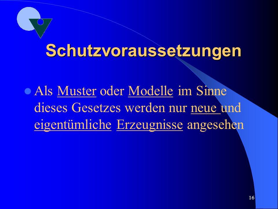 Der Status Quo Das deutsche GschmG im Überblick