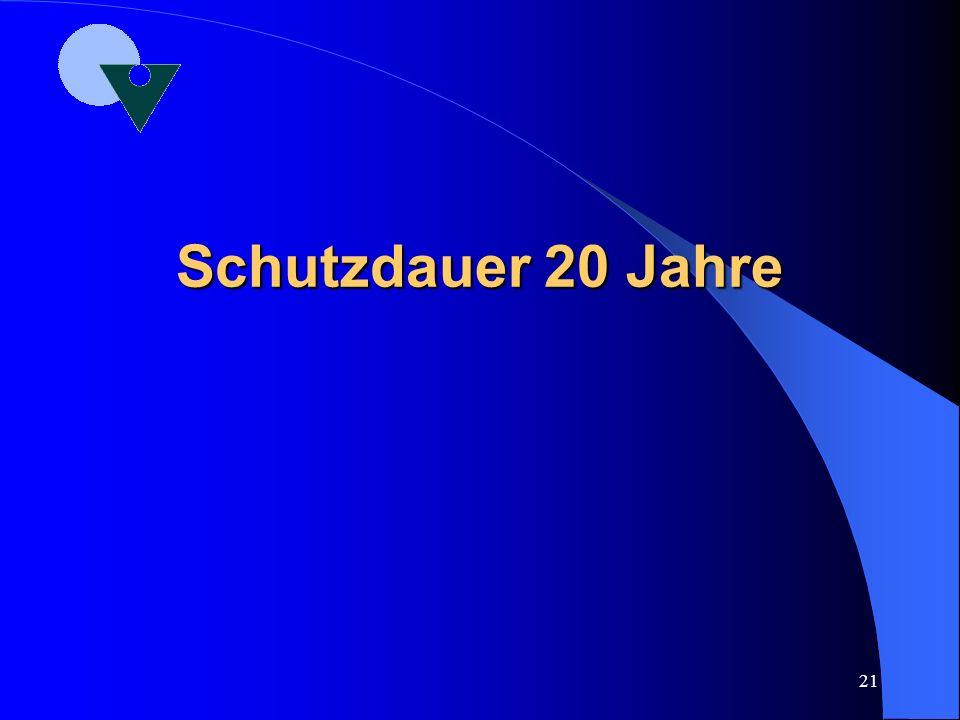 20 Die verbotene Nachbildung nach § 5 GschmG Jede Nachbildung eines Musters oder Modell, welche in der Absicht dieselbe zu verbreiten, ohne Genehmigun
