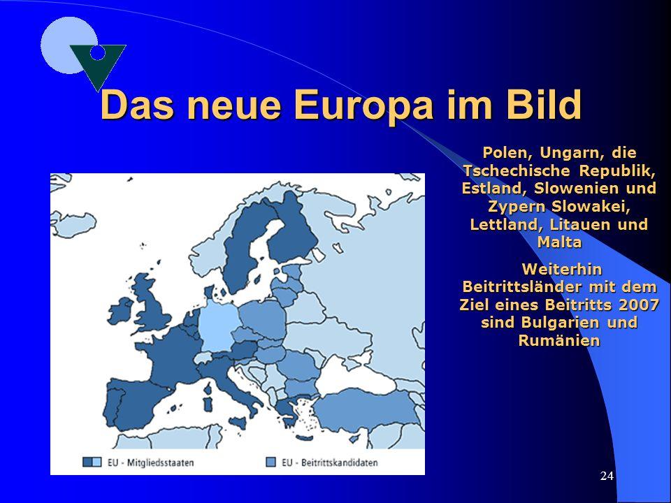 23 Das neue Europa in Zahlen