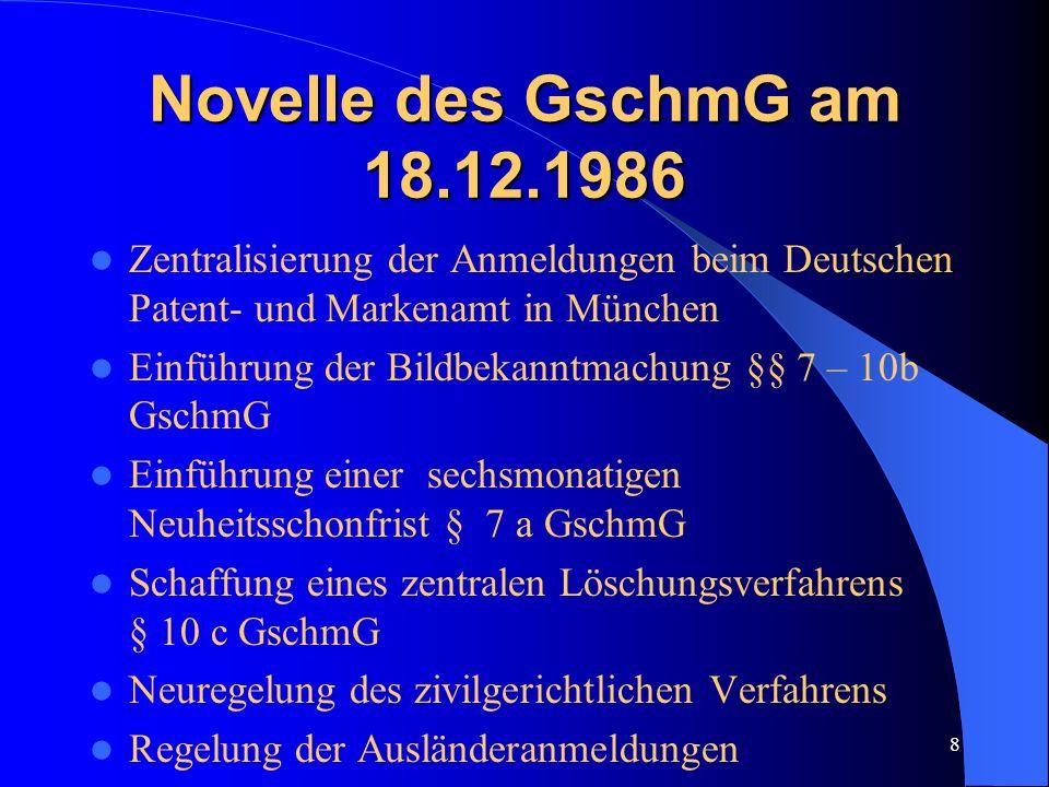 7...und schließlich 1876 wird das Urheberrecht an Mustern und Modellen im Reichsgesetzblatt veröffentlicht. außerdem gab es ein Kunstschutzgesetz (KUG