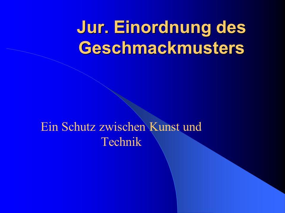 8 Novelle des GschmG am 18.12.1986 Zentralisierung der Anmeldungen beim Deutschen Patent- und Markenamt in München Einführung der Bildbekanntmachung §