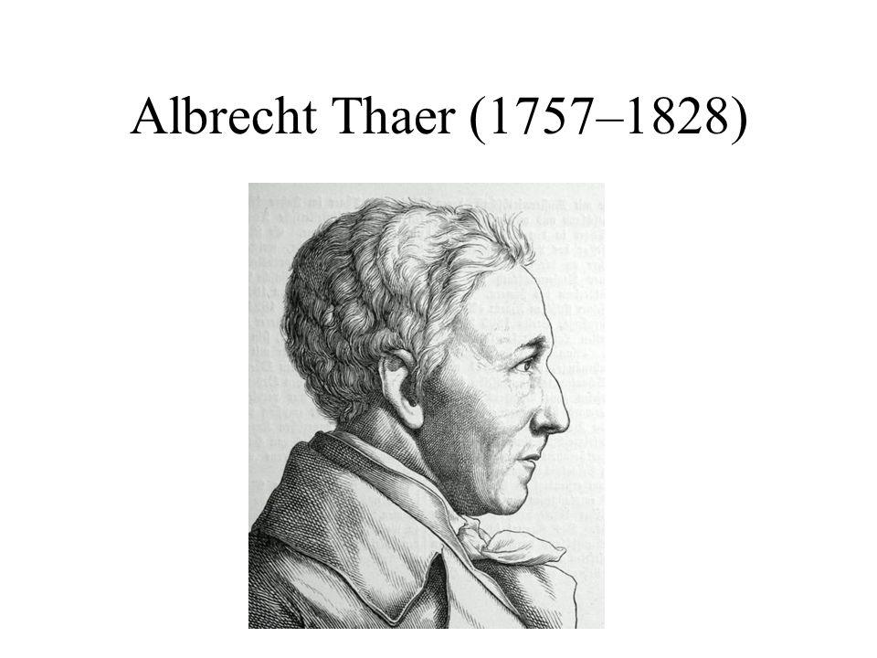 Albrecht Thaer (1757–1828)