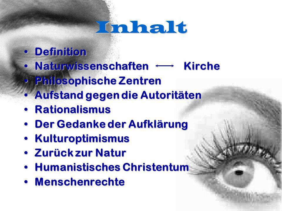 Definition Allgemein: Ein im 18.Jh.