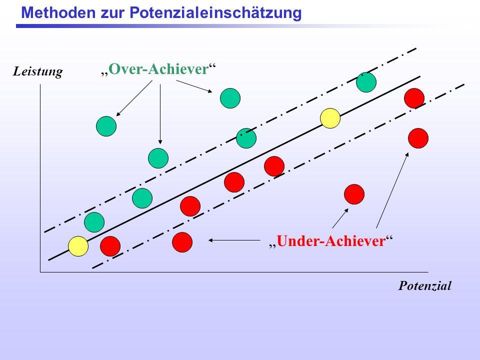 Methoden zur Potenzialeinschätzung Leistung Potenzial