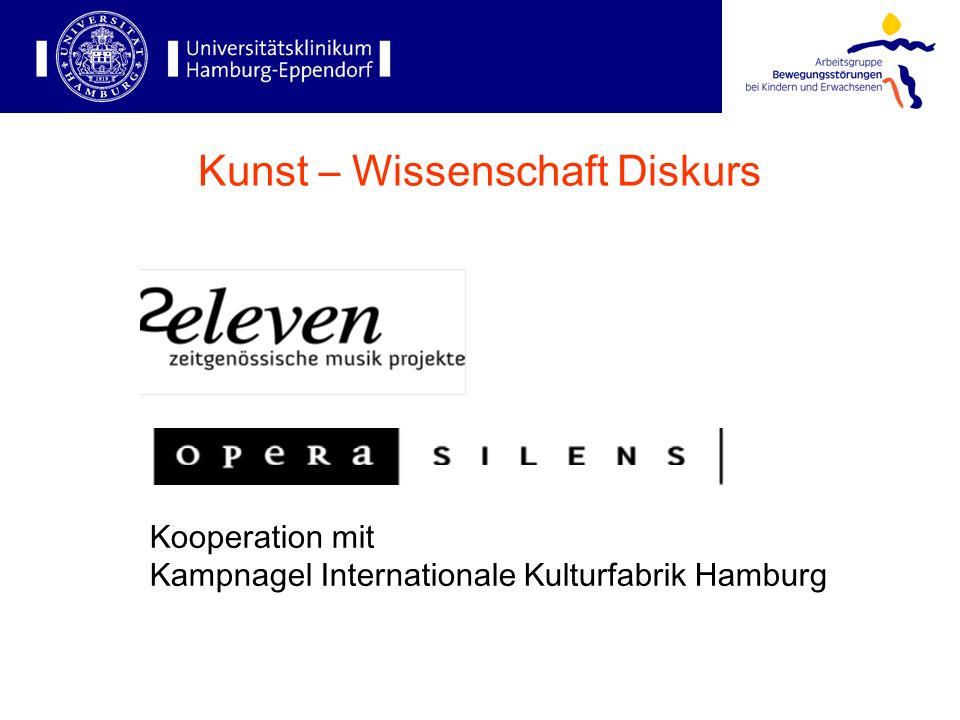 Kooperation mit Kampnagel Internationale Kulturfabrik Hamburg Kunst – Wissenschaft Diskurs